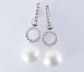 Orecchini pendenti Perle